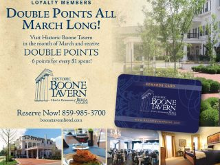 Become a Boone Tavern Loyalty Member Today!