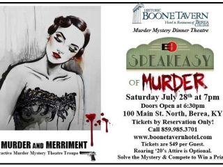 Speakeasy Murder Mystery Dinner Show