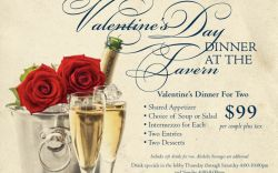 Valentines Day Dinner at the Tavern